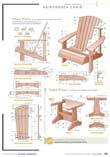 Basic Free Adirondack Chair Plans to Quick-Start Your Patio Building