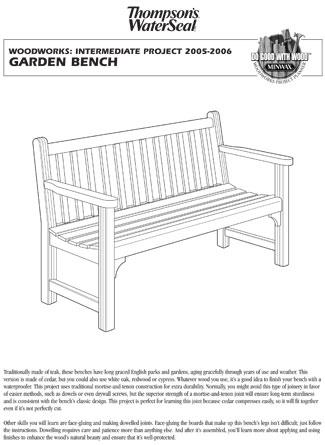 Free Printable Adirondack Chair Plans